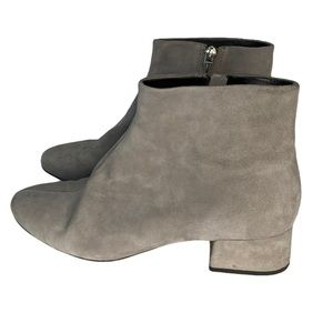 Dolce Vita Grey faux suede ankle boots